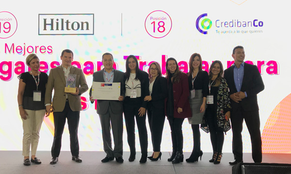 18 Credibanco great places for women gptw 2019