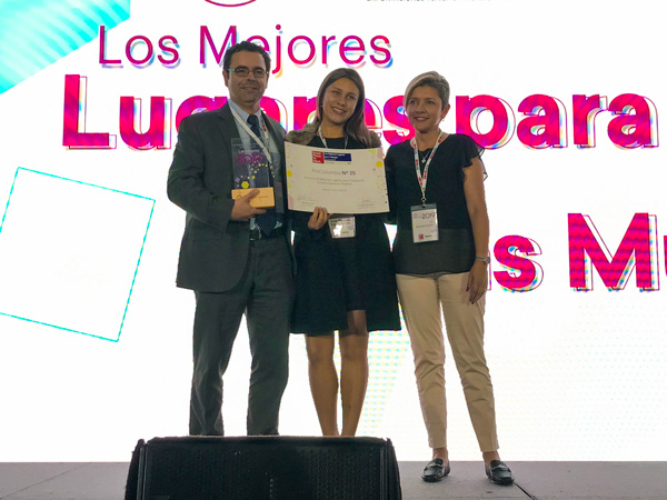 25 Procolombia great places for women gptw 2019