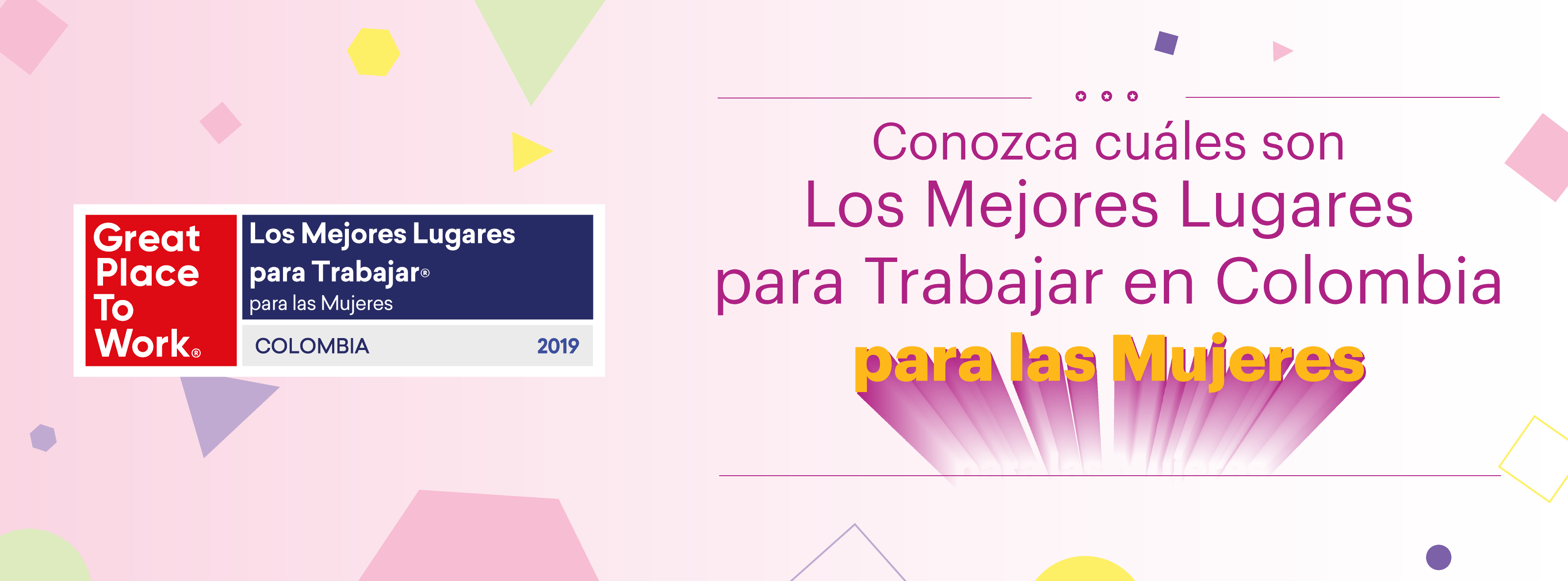 Banner evento Mujeres 2019